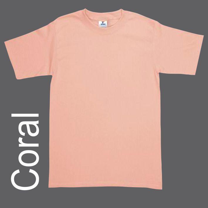 Playera Yazbek Caballero C0300 Coral  b1edfe87d1e50