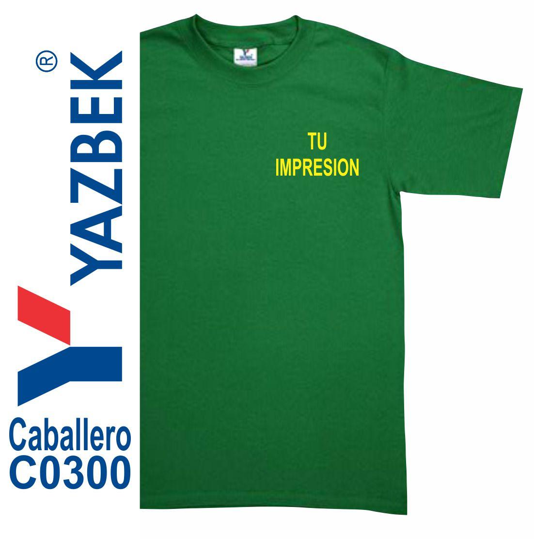 Playera Yazbek C0300 Caballero  d094439e9b410