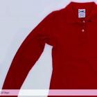 Camisa Tipo Polo Mayorka 724 Manga Larga Dama Rojo