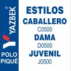 Playera Tipo Polo Yazbek Estilos
