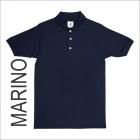 Playera Tipo Polo Yazbek Marino