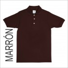 Playera Tipo Polo Yazbek Marron