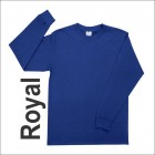 Playera Yazbek Caballero Manga Larga C0304 Royal
