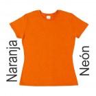 Playera Yazbek D0250 Naranja Neon