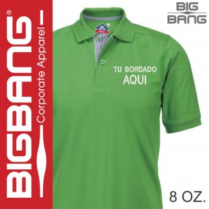 Playera tipo polo Big Bang