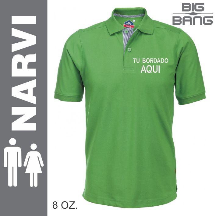 Camisa Tipo Polo Big Bang Narvi 44fb901322c92