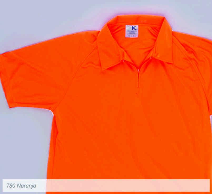 Polo Mayork 780 Dry Wear Caballero Naranja Neon  4765316c1387e