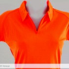 Polo Mayorka 785 Dry Wear Dama Naranja Neon