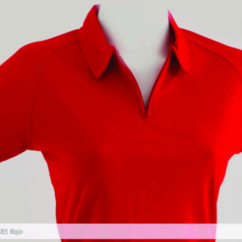 Polo Mayorka 785 Dry Wear Dama Rojo