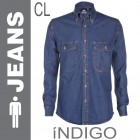 camisa jeans indigo