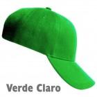 Gorra Acrilana Verde Claro