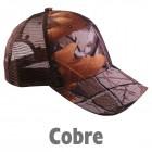 Gorra Camu COBRE