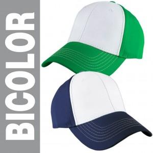 gorra bicolor principal