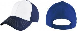 gorra bicolor trasero