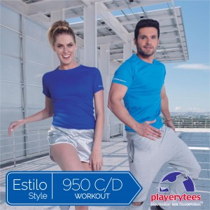 Playera Workout Estilo 950 C/D