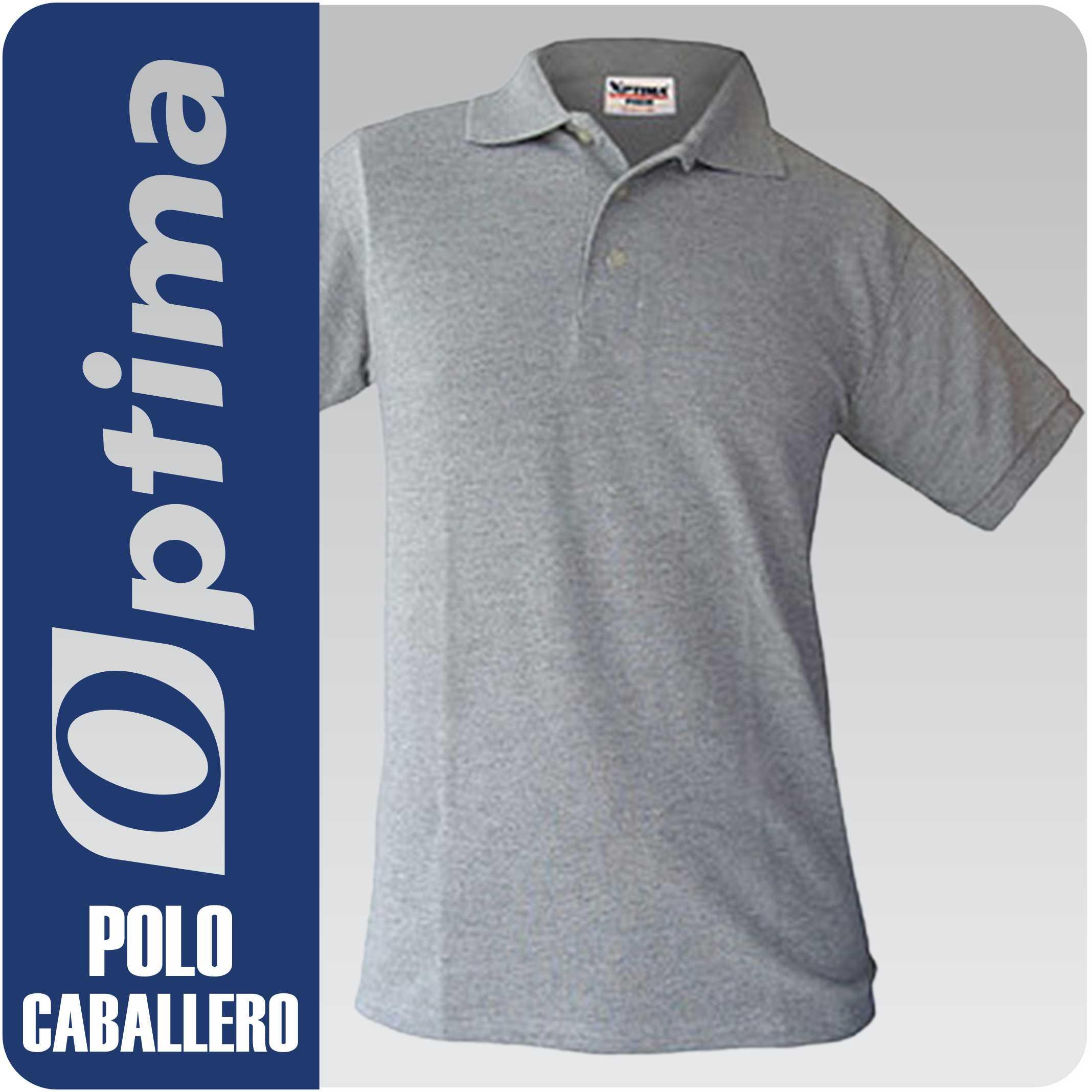 80d790309ffae PLAYERA POLO CABALLERO. Playeras Tipo Polo Optima